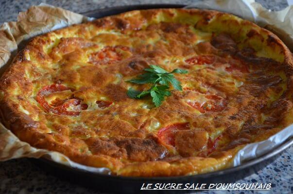 Quiche Au Thon Tomate Et Vache Qui Rit Le Sucre Sale D Oum Souhaib