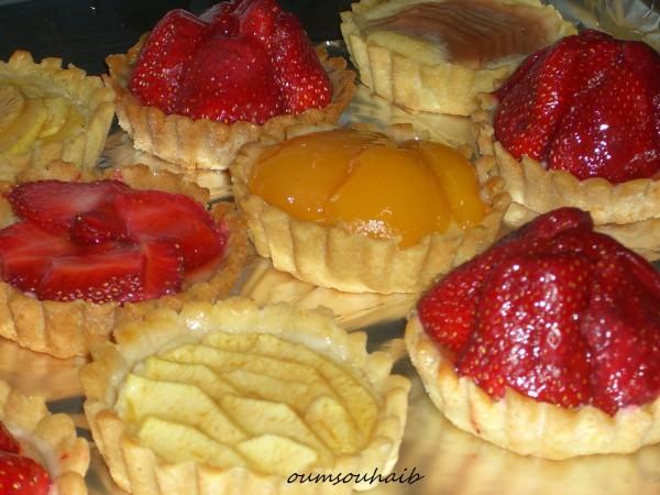 tartelette aux fraises 4