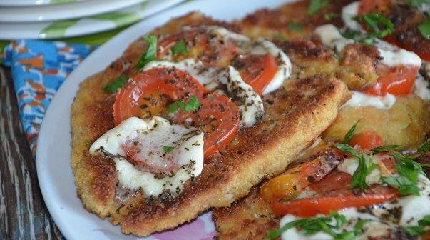 escalopes milanaises et tomates mozzarellas fondantes 1