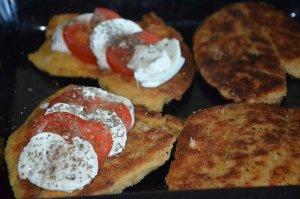 escalopes milanaises et tomates mozzarellas fondantes 2