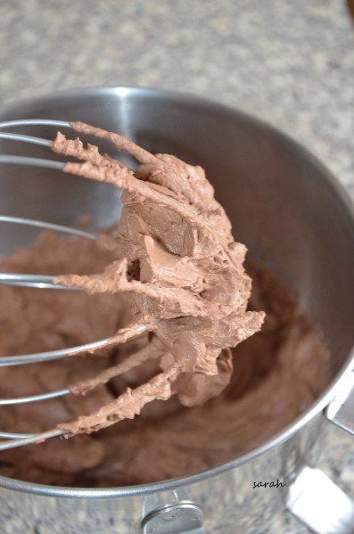 chantilly au chocolat onctueuse de Mercotte