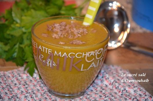 soupe poireaux pdt carottes et viande hachée 1