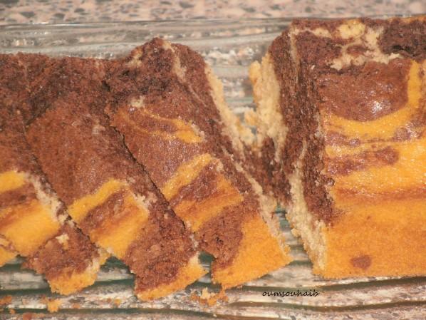 cake marbré rapide