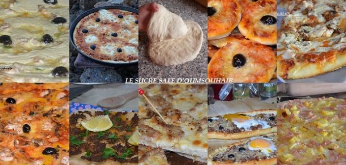 entrées salées pizzas spécial ramadan