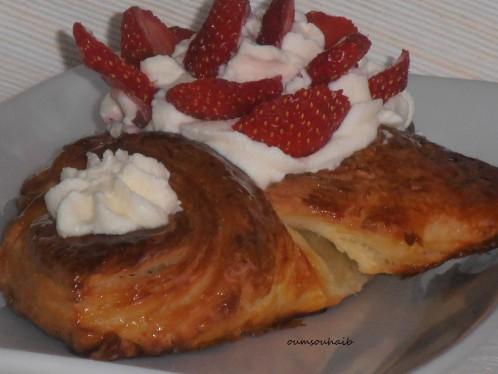 feuilleté fraises 1
