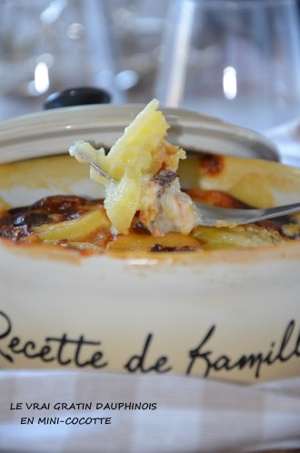 le vrai gratin dauphinois en mini cocotte crémeux et onctueux recette traditionnelle