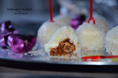 raffaello maison croustillant croquant chocolat sans cuisson recette facile