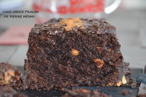 cake chocolat pierre hermé praliné noisette
