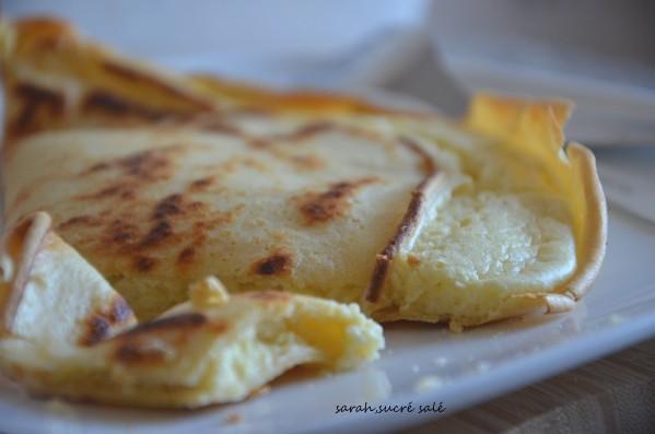 crêpe soufflée au fromage