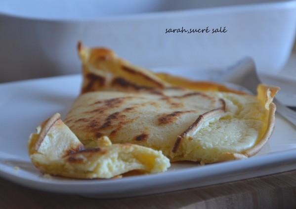 crêpes soufflées au four aux 3 fromages - crêpes souflées