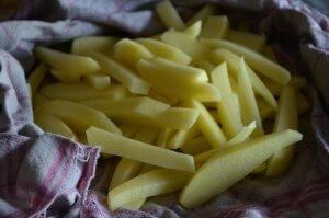 frites maison au four 4