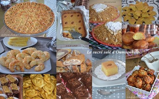 gâteaux algériens et pâtisseries orientales pour ramadan 2018 et fêtes
