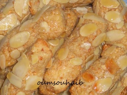 gâteaux algériens faciles aux cacahuètes et noix de coco