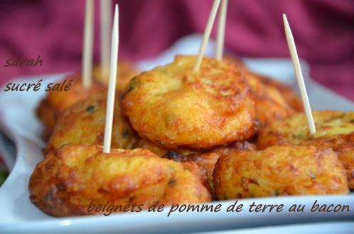 beignets pomme de terre bacon 2
