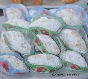gâteaux algeriens hyper fondants aux sésames et cacahuètes recette facile