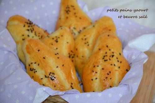 petit pain au yaourt et beurre salé