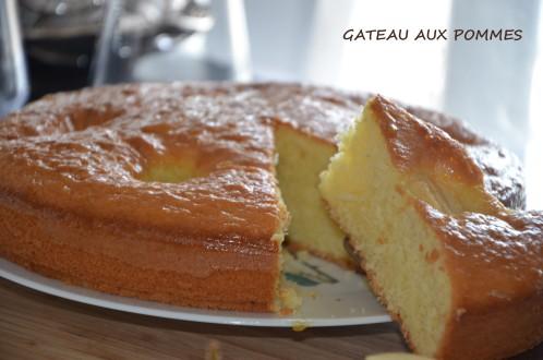 gâteau aux pommes facile léger et moelleux