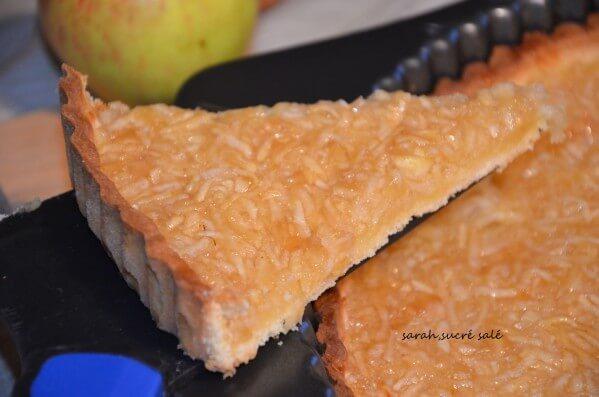 panade aux pommes tarte aux pommes râpées