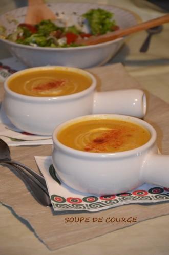 soupe courge carotte poireau pomme de terre