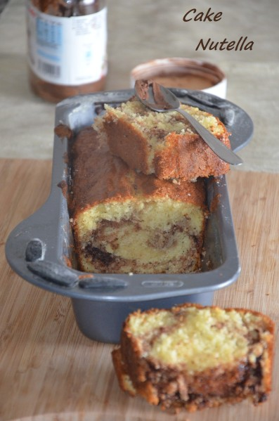 cake au nutella facile et fondant
