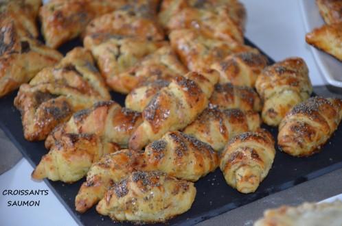 croissants-feuilletes-au-saumon-fumé