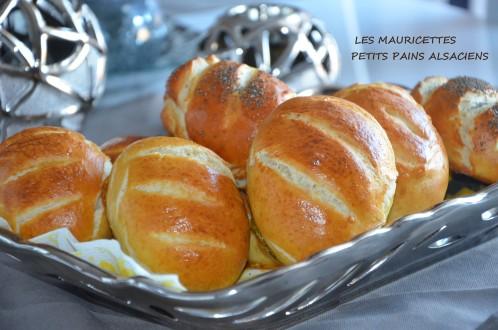 mauricettes petits pains alsaciens de Sabrina meilleur patissier sur M6