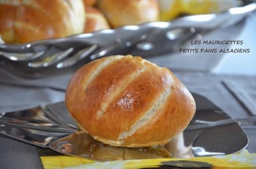 mauricettes petits pains alsaciens de Sabrina meilleur patissier