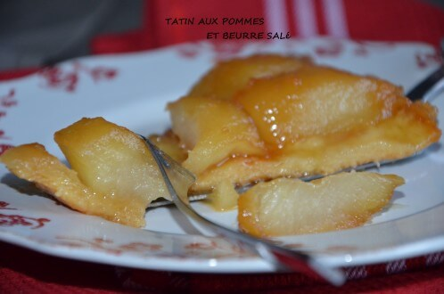 tarte tatin au caramel beurre salé meilleur pâtissier
