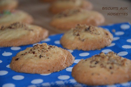 biscuits noisettes faciles