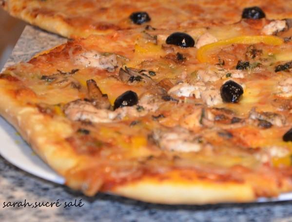 pizza royale aux champignons