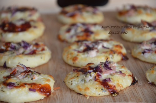 mini pizzas bbq 2