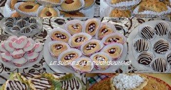 gâteaux algériens modernes de naissance