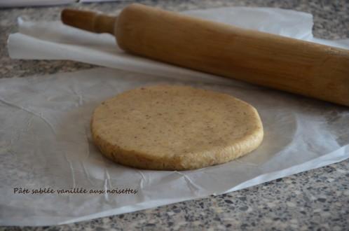 pâte sablée aux noisette