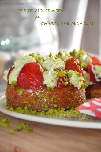 tarte fraises michalak