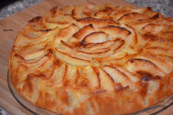 le meilleur gâteau aux pommes gâteau normand
