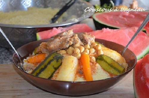 couscous à l'agneau algérien légumes facile recette fin