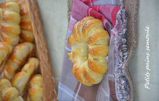 petits pains semoule 1