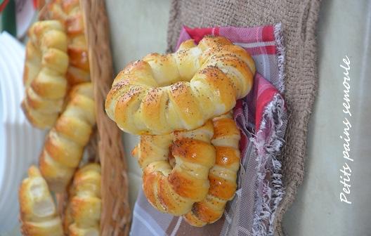 petits pains semoule 6