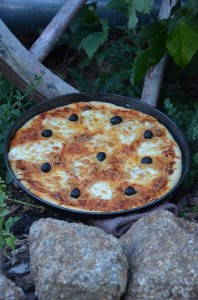 pizza mozaerlla di buffala 1