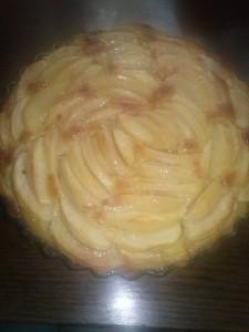 Nouriness Myriam tarte aux pommes crème amande