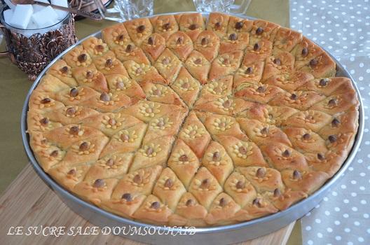 baklawa algerienne aux noix et amandes
