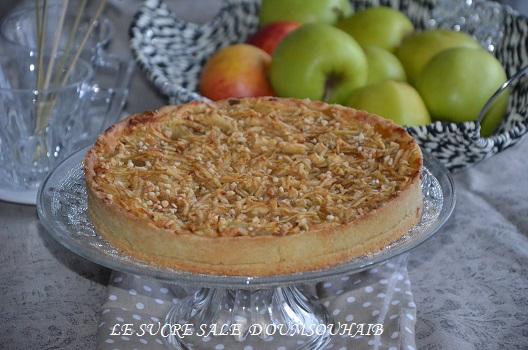 tarte aux pommes en 2 cuissons 4