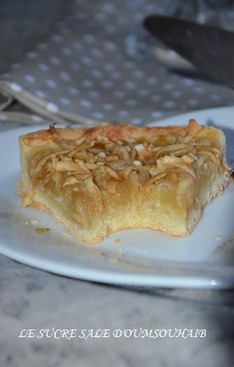 tarte aux pommes en 2 cuissons