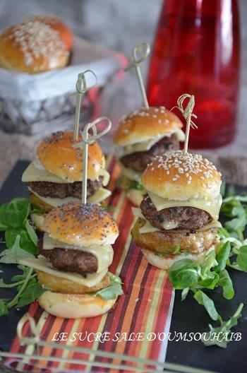 Mini-burger extra moelleux
