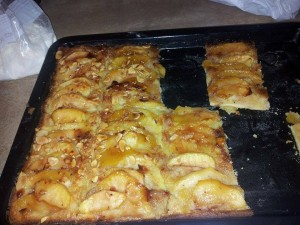 ouarda tartee pommes amande