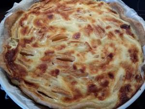 rosy rosa tarte aux pommes alsacienne personnalisé