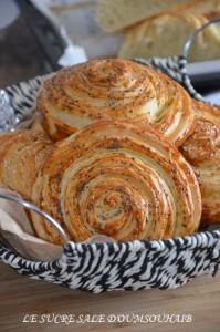pains tourbillons feuilletés 1
