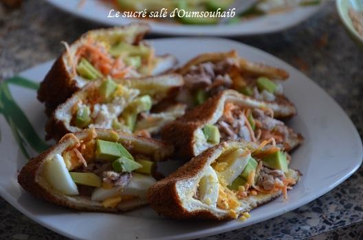 Sandwichs panés