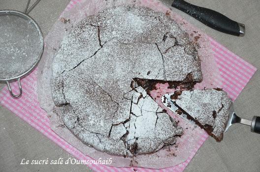 torta caprese au chocolat -  torta caprece chococlat recette