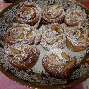 beignets aux pommes saveur du maghreb